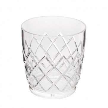 Yarai® Acrylic Stackable Double Rocks Glass